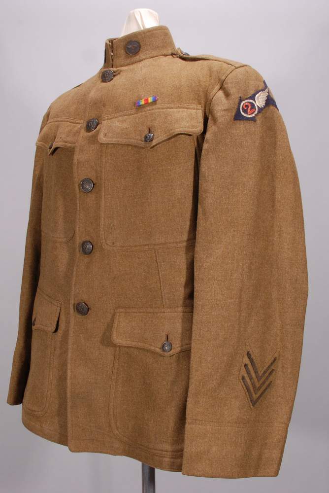 Coat, Service, Enlisted, United States Army Air Service,Coat, Service, Enlisted, United States Army Air Service