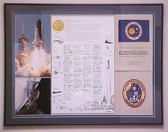 Plaque, Letter/Flag/Patch, STS-30,Plaque, Letter/Flag/Patch, STS-30