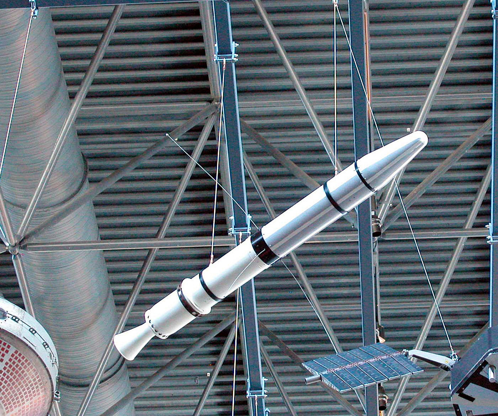 Satellite, Explorer 1, Replica,Satellite, Explorer 1, Replica
