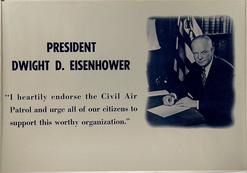 PRESIDENT DWIGHT D. EISENHOWER,PRESIDENT DWIGHT D. EISENHOWER
