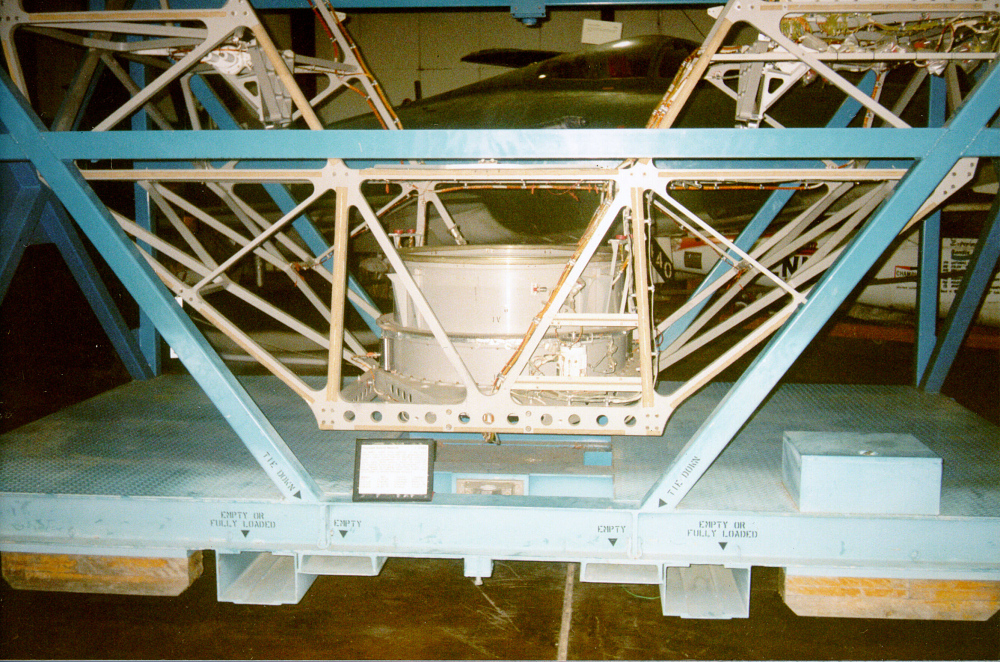 Cradle, Payload Assist Module (PAM-D), Space Shuttle