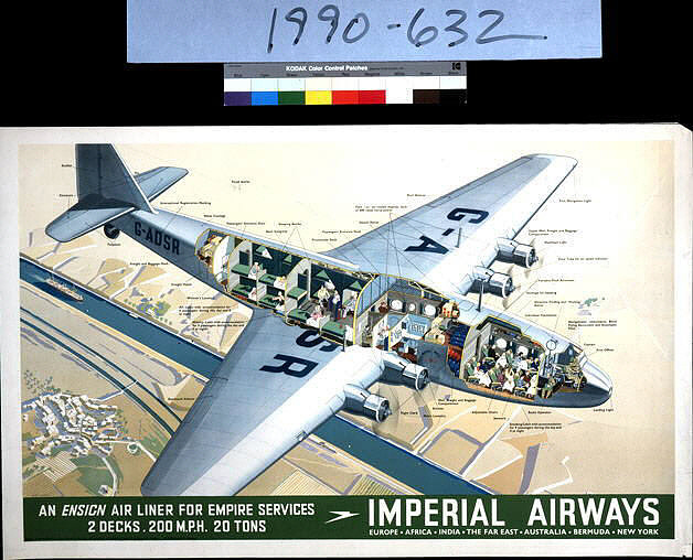 Imperial Airways, An Ensign Air Liner for Empire Services