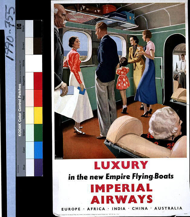 Imperial Airways Luxury in the New Empire Flying Boats