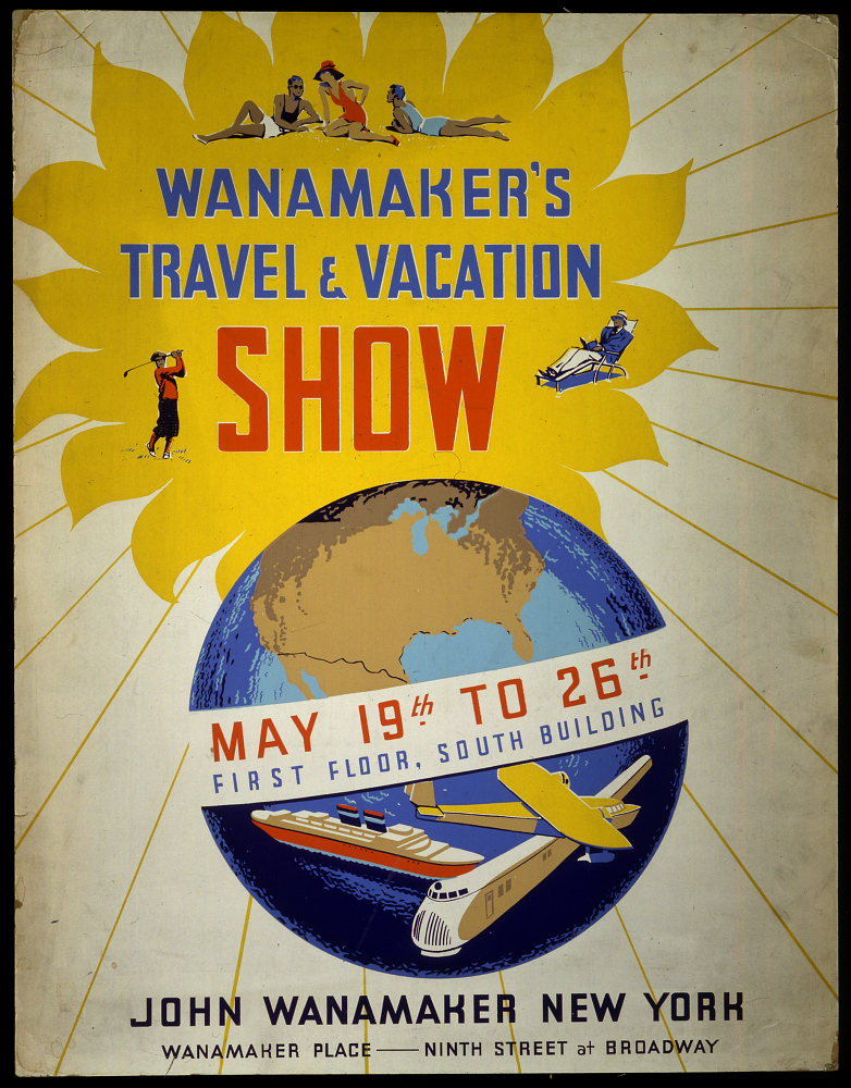 Wanamaker's Travel and Vacation Show,Wanamaker's Travel and Vacation Show