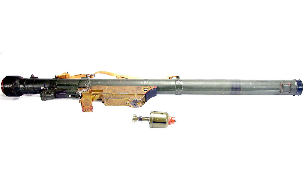 Missile Firing Tube and Grip Stock, Surface-to-Air, SA-7,Missile Firing Tube and Grip Stock, Surface-to-Air, SA-7
