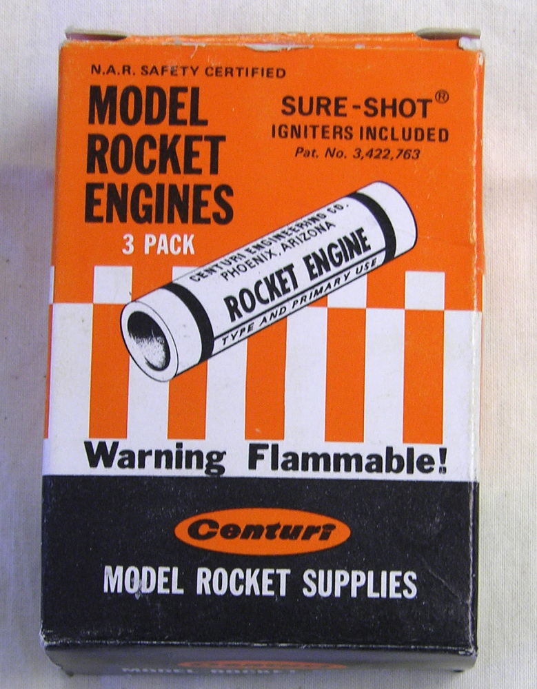 Motors, Model Rocket, Set, Centuri