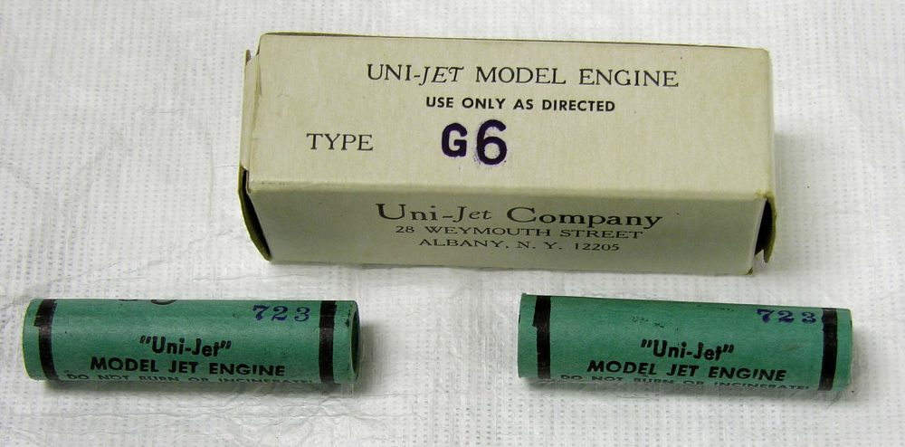 Motors, Model Rocket, Set, Uni-Jet Co