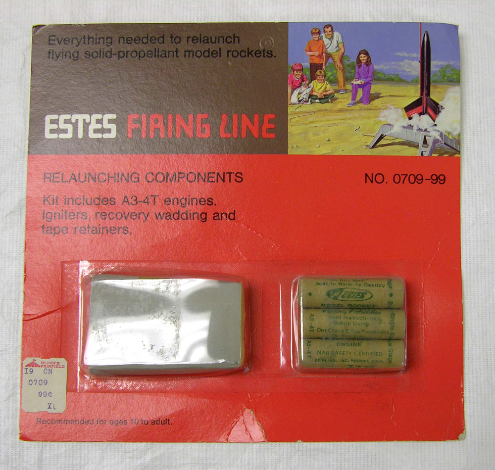 Motors, Model Rocket, Kit, Estes Firing Line