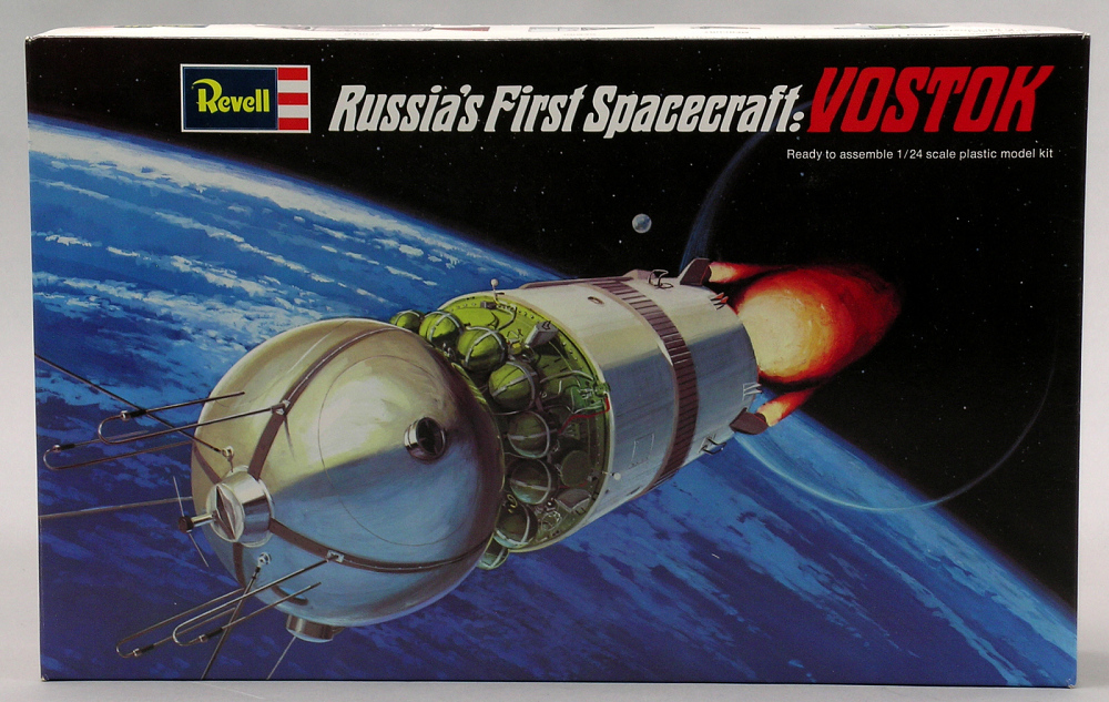 Model, Spacecraft, Vostok 1:24,Model, Spacecraft, Vostok 1:24