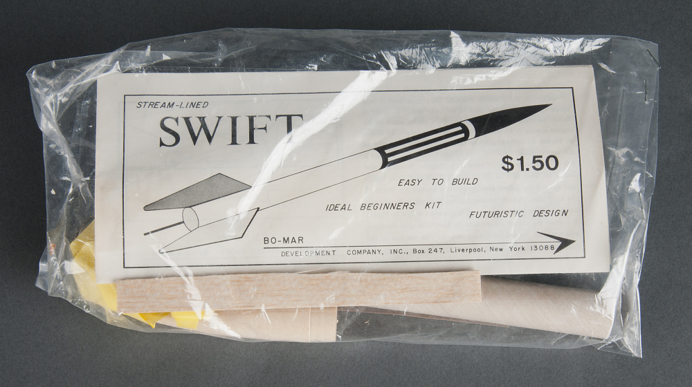 Rocket, Flying Model Kit, Swift