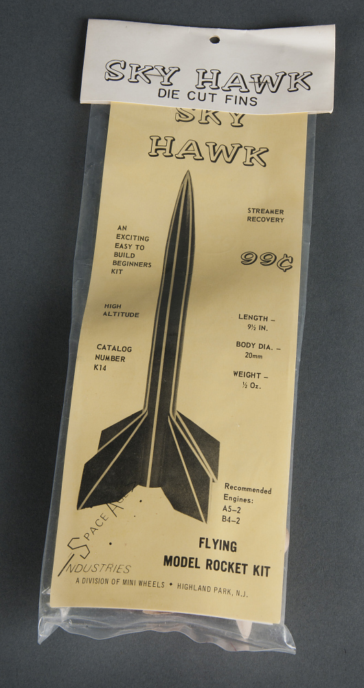 Rocket, Flying Model Kit, Sky Hawk