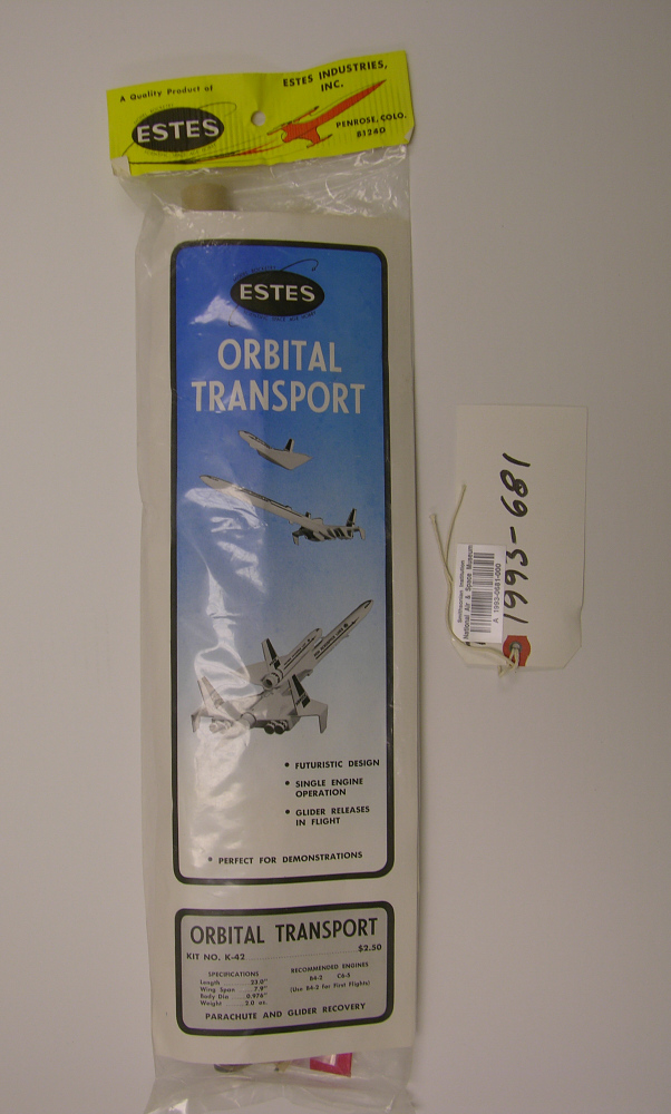 Rocket, Flying Model Kit, Orbital Transport
