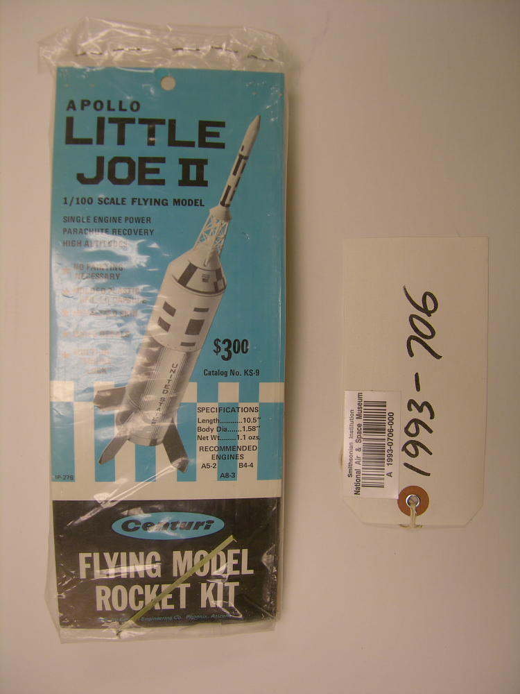 Rocket, Flying Model, Little Joe II,Rocket, Flying Model, Little Joe II