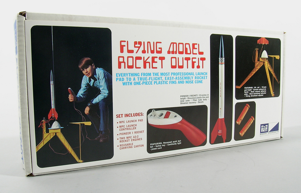 Rocket, Flying Model, Pioneer 1,Rocket, Flying Model, Pioneer 1