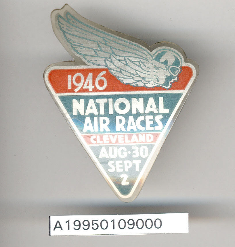 Badge, 1946 Cleveland Air Races,Badge, 1946 Cleveland Air Races