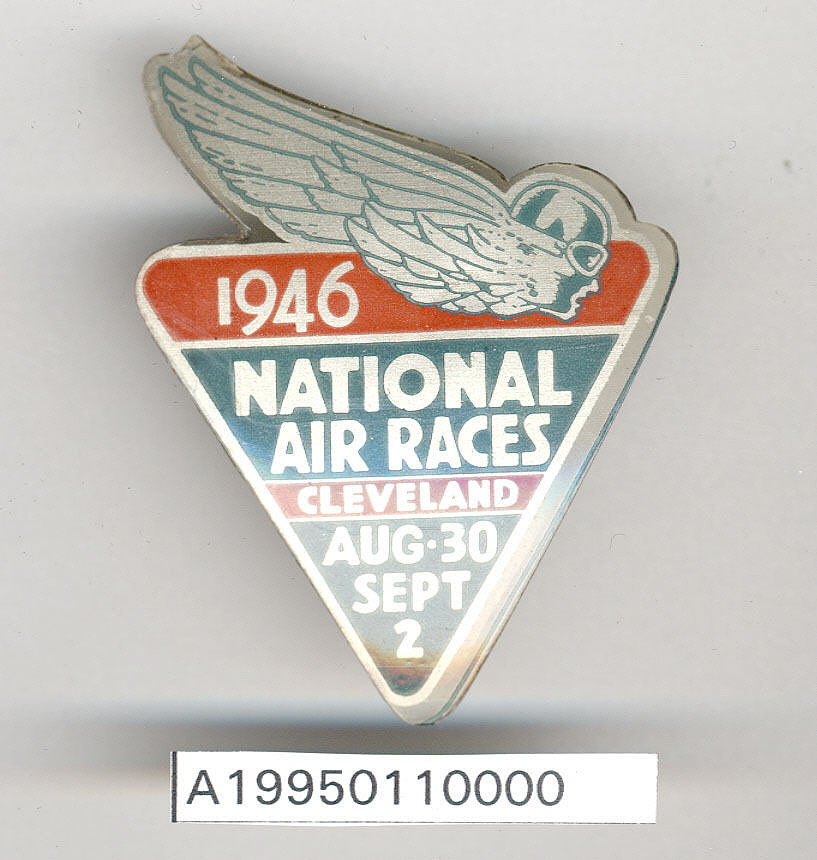 Badge, 1946 Cleveland Air Races