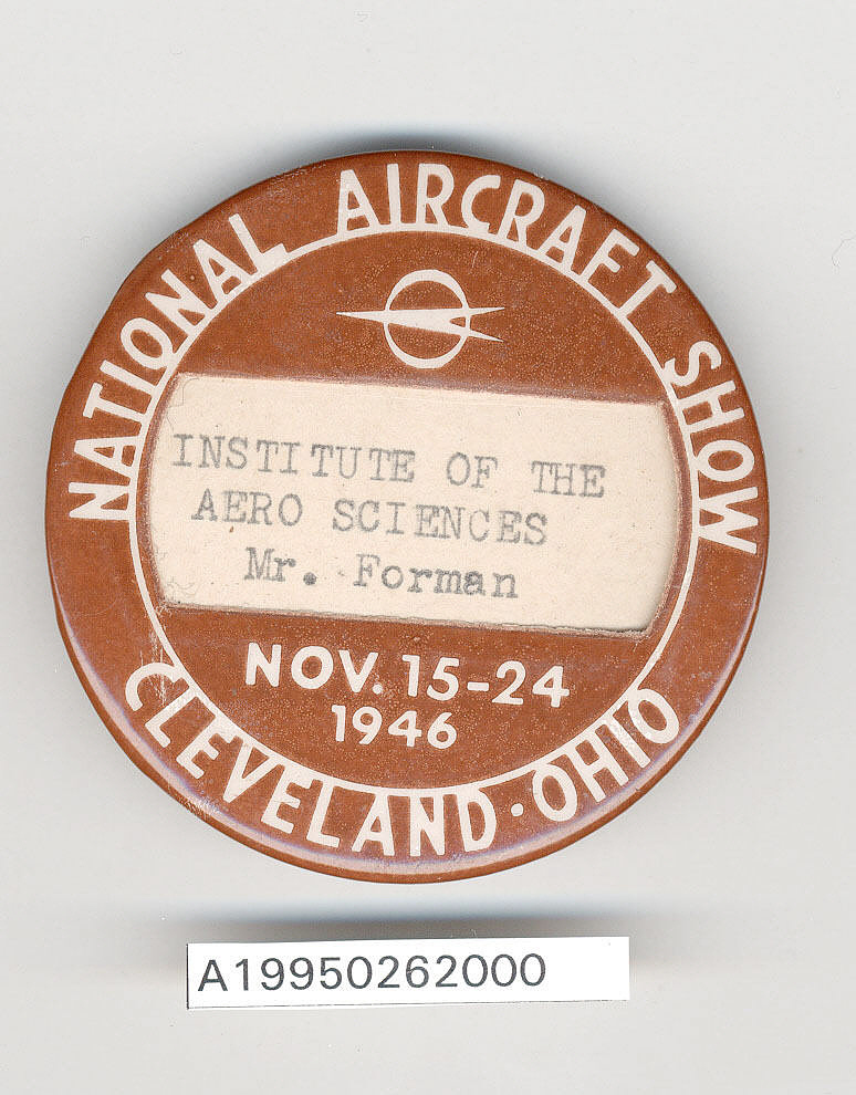 Button, Participant, 1946 National Aircraft Show