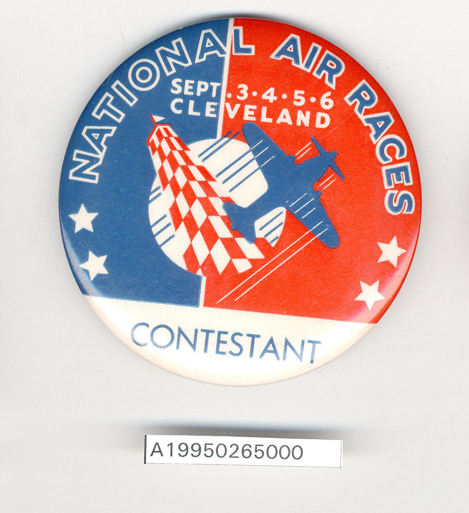 Button, Contestant, National Air Races,Button, Contestant, National Air Races