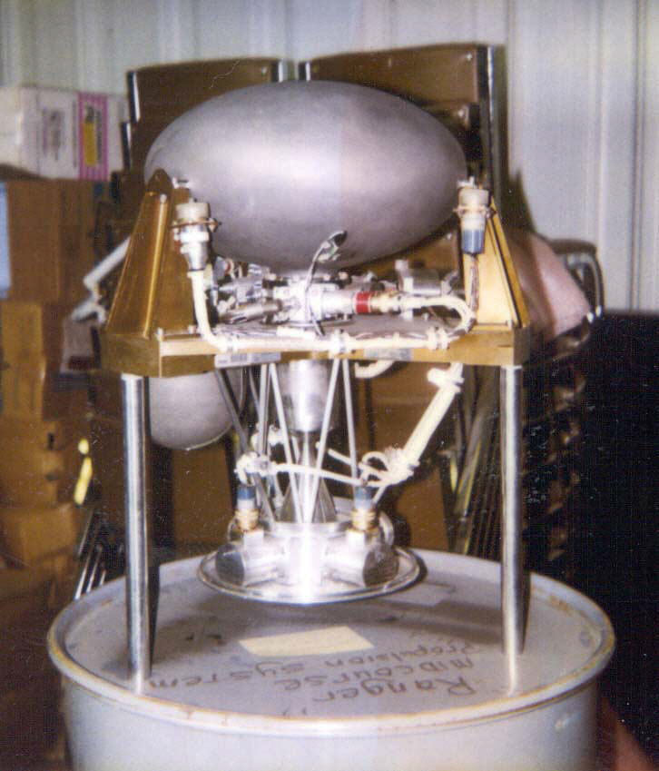 Rocket Engine, Liquid Fuel, Ranger Midcourse Propulsion System