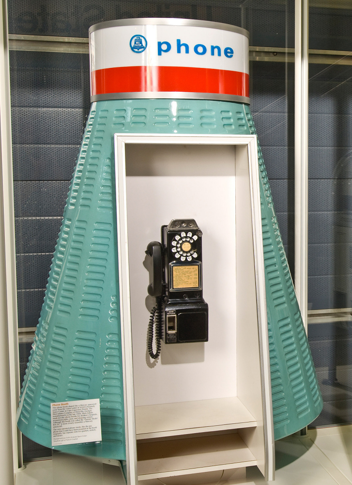 Phone Booth, Mercury Capsule Shape