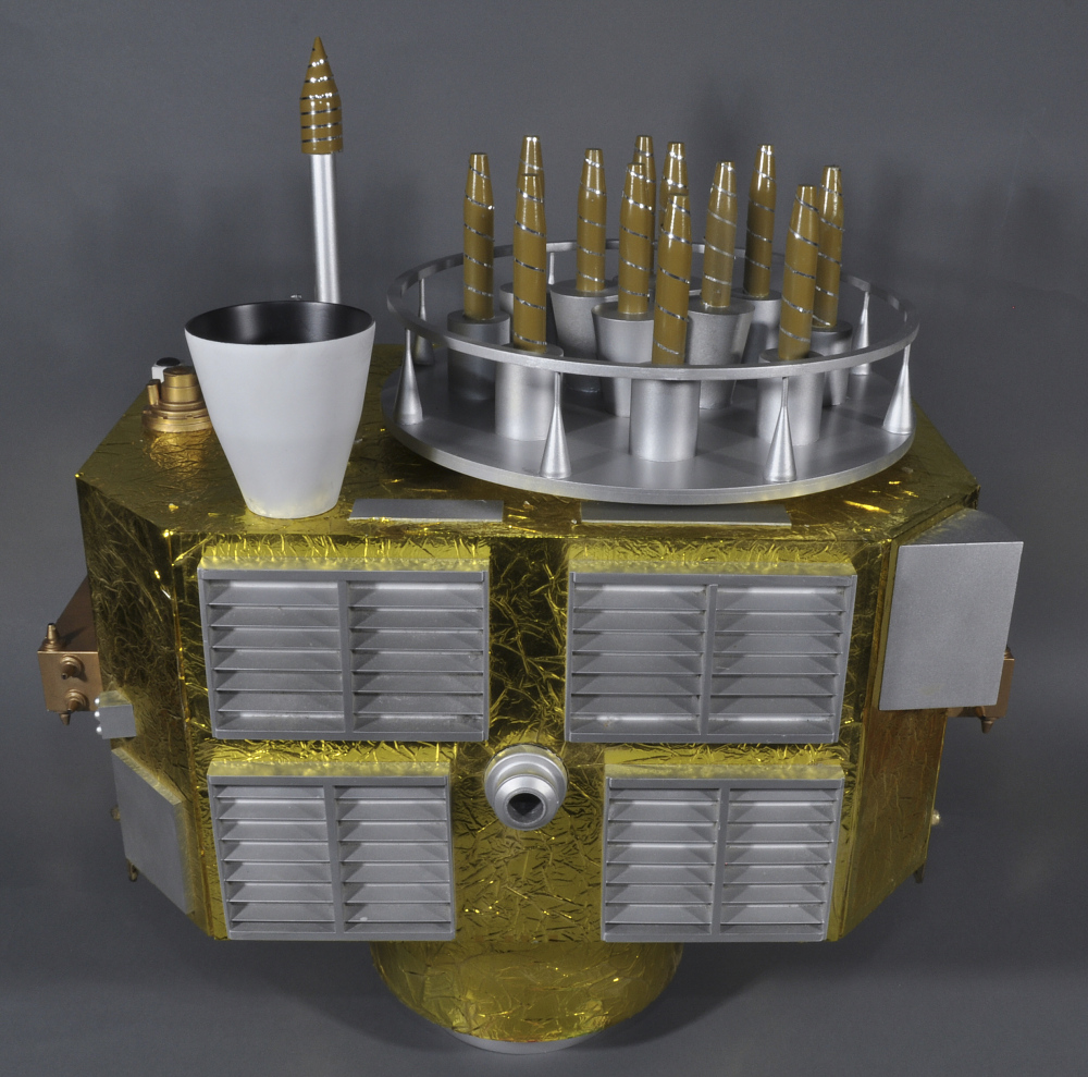 Model, Satellite, GPS, Block II