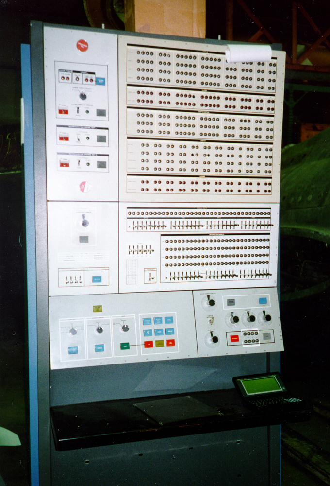 Configuration Control Unit, Air Traffic Control Computer, IBM 9020