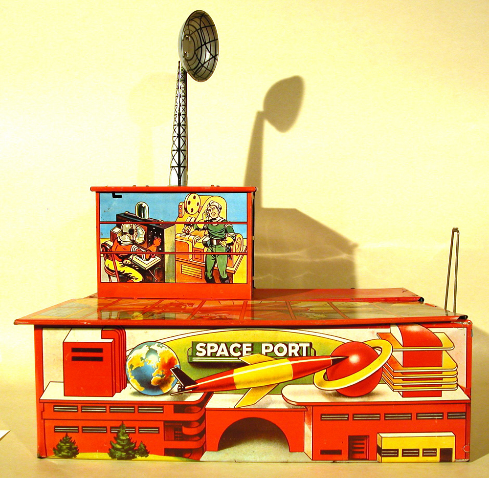 Toy, Space Port, Archer Outer Space Set