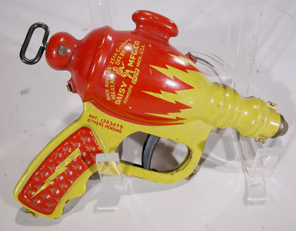 Toy Gun, Buck Rogers, Water Pistol, XZ-44 Liquid Helium, Painted Finish