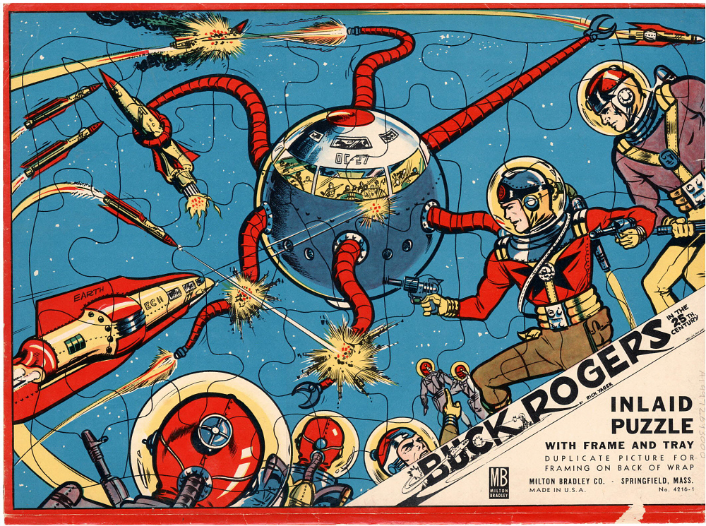 Puzzle Wrapper, Buck Rogers