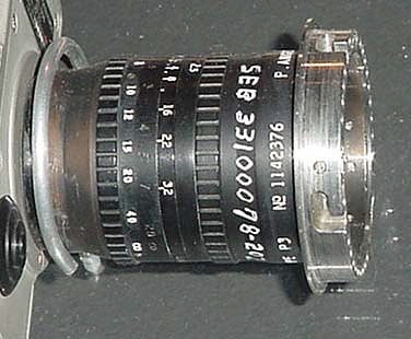 Lens, 75mm, Data Acquisition Camera, Apollo 11,Lens, 75mm, Data Acquisition Camera, Apollo 11