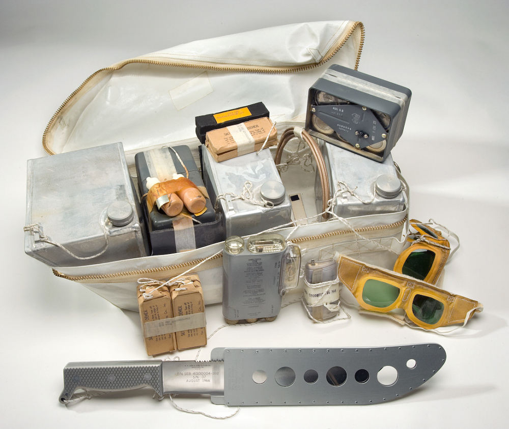 Rucksack #1, Survival Kit, Apollo 11