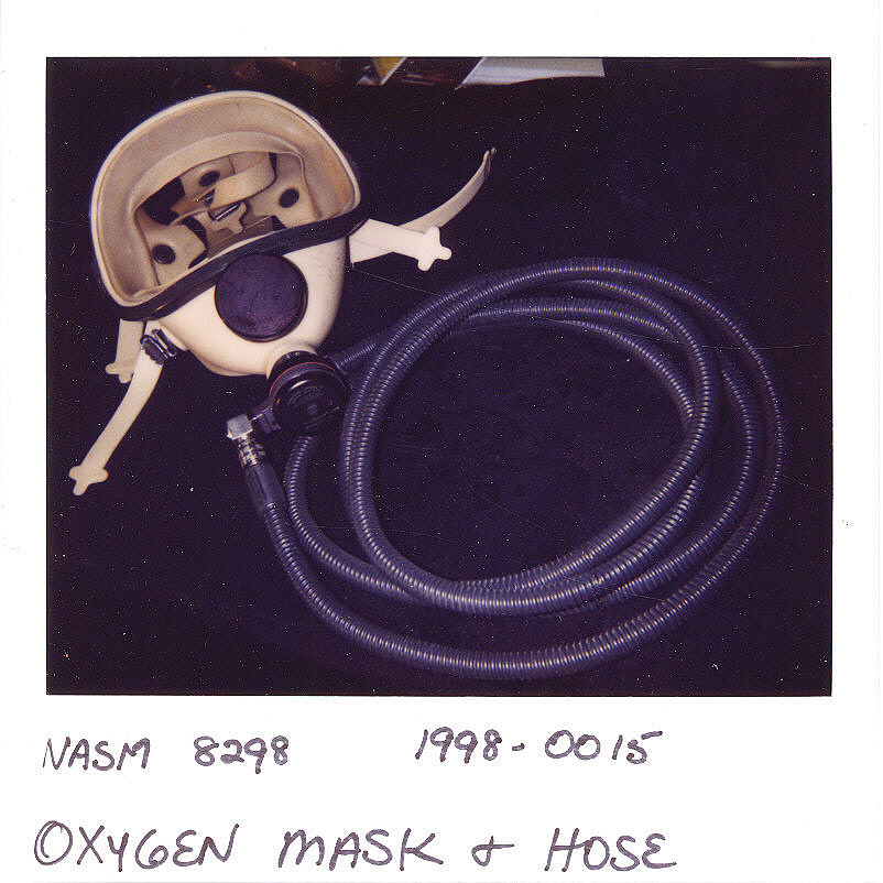 Oxygen Mask, Emergency, Apollo 11