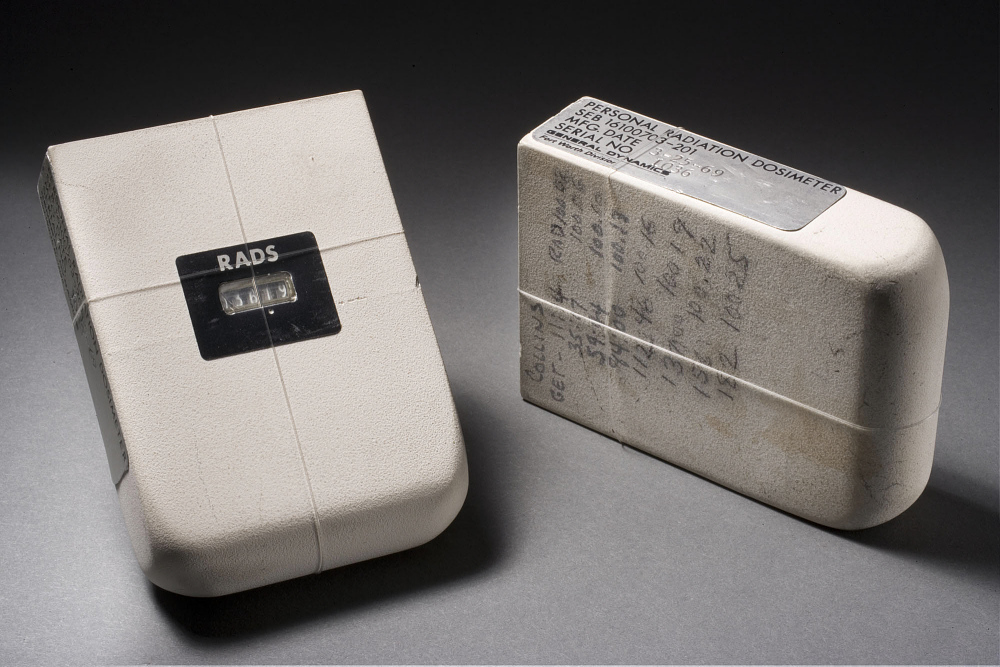 Dosimeter, Passive Radiation, Personal, Apollo 11