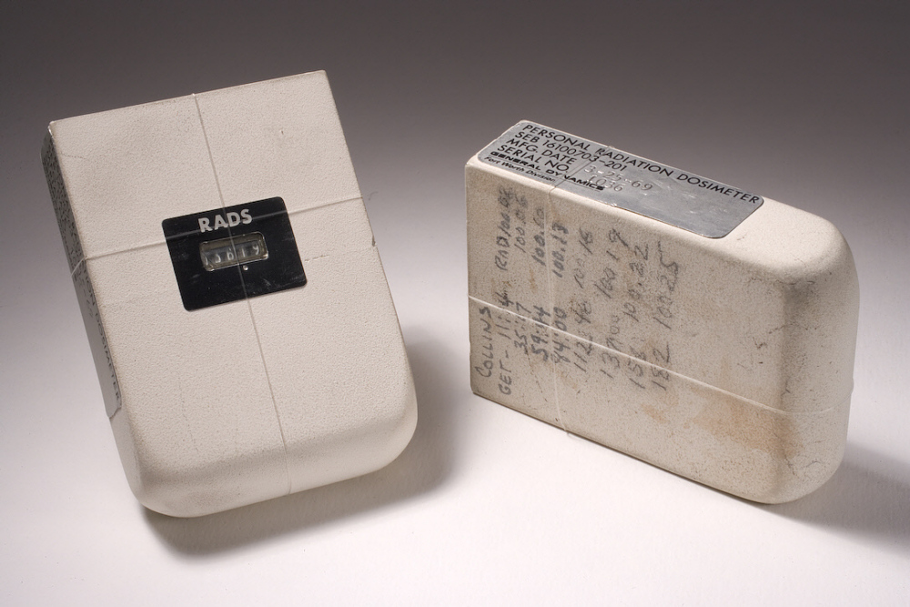 Dosimeter, Passive Radiation, Personal, Apollo 11, Collins