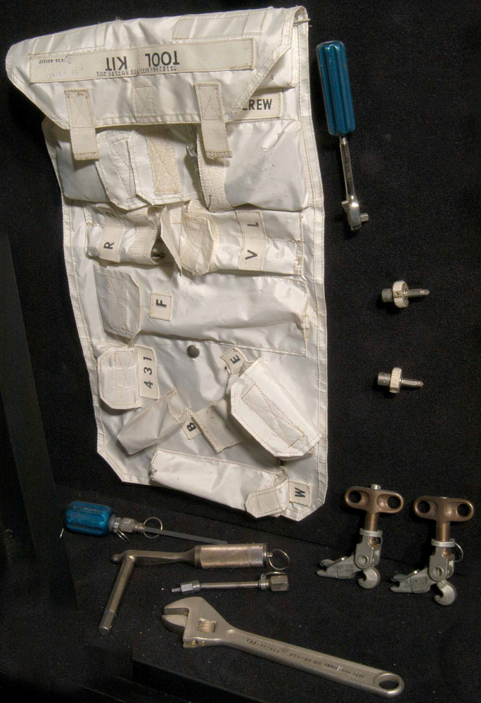 Tool Set, Command Module, Apollo 11