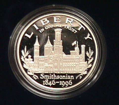 Coin, Smithsonian Commemorative, STS-79,Coin, Smithsonian Commemorative, STS-79