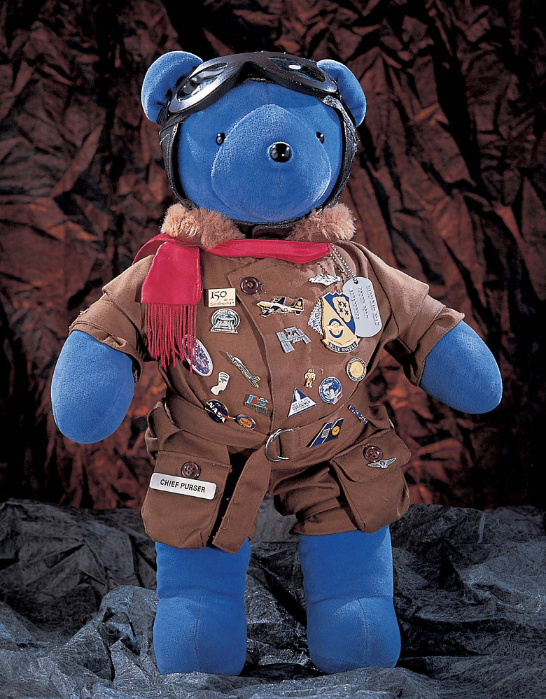 Toy, Stuffed, Teddy Bear (Magellan T. Bear), STS-63,Toy, Stuffed, Teddy Bear (Magellan T. Bear), STS-63