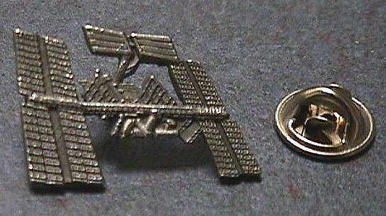 Pin, Lapel, Space Station (ISS),Pin, Lapel, Space Station (ISS)