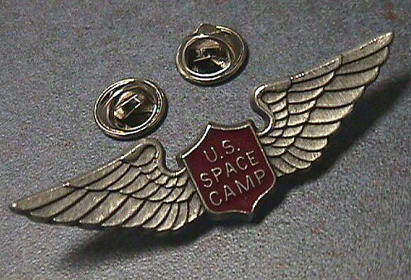 Pin, Lapel, Space Camp,Pin, Lapel, Space Camp