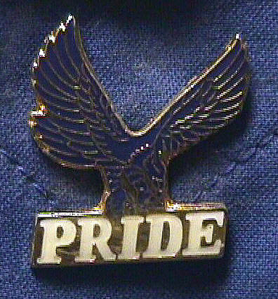 Pin, Lapel, Pride, Elk Creek Elementary School