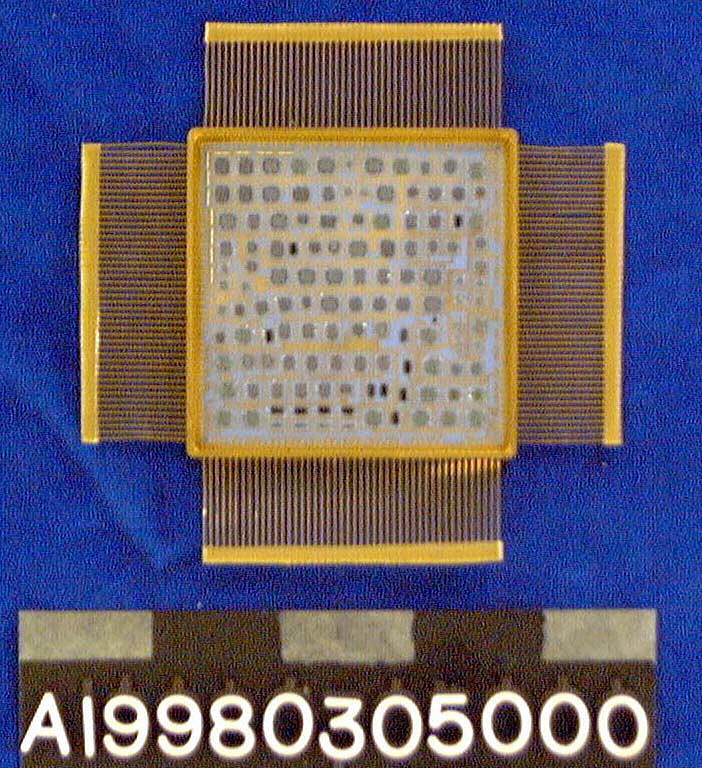 Mass Memory Controller, Microelectronic Hybrid, Milstar Communications Satellite