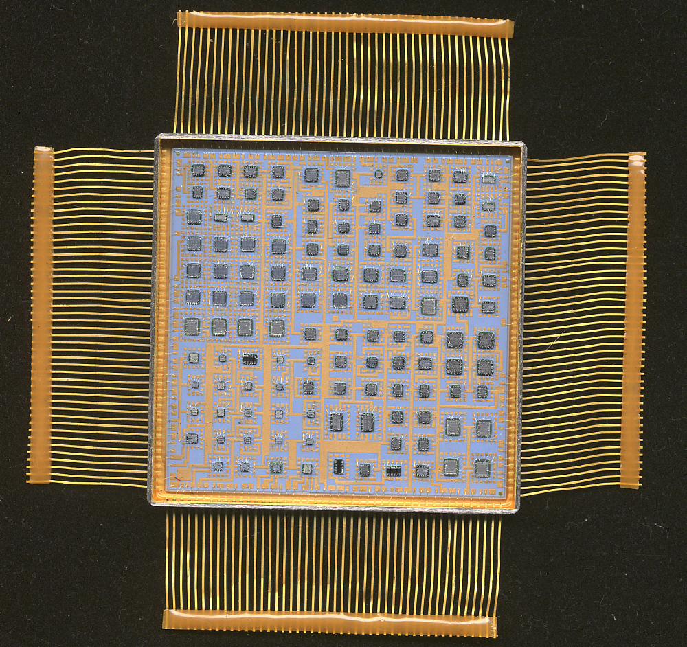 IOC Sequencer, Microelectronic Hybrid, Milstar Communications Satellite,IOC Sequencer, Microelectronic Hybrid, Milstar Communications Satellite