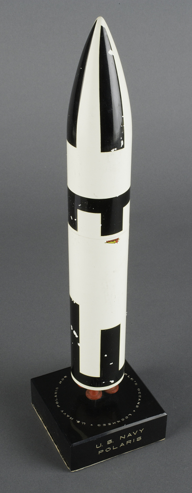Model, Missile, Polaris A-3