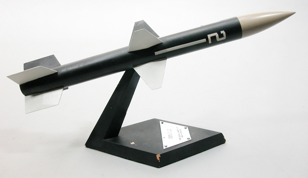 Model, Missile, Oriole,Model, Missile, Oriole