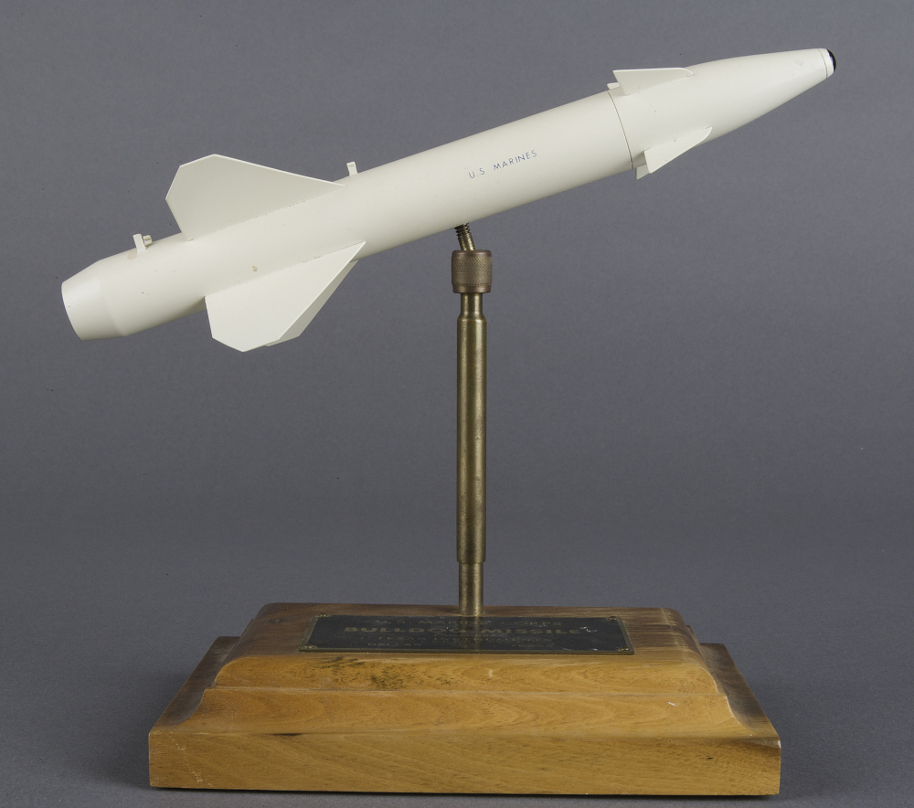 Model, Missile, Bulldog ZAGM-83A,Model, Missile, Bulldog ZAGM-83A