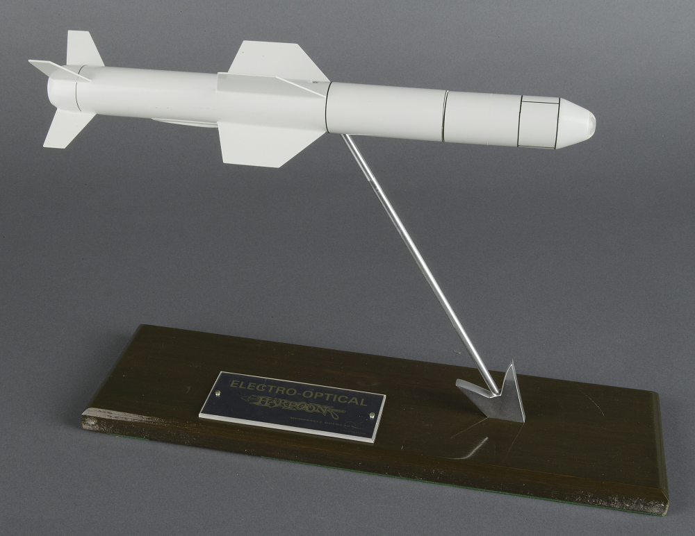 Model, Missile, Harpoon