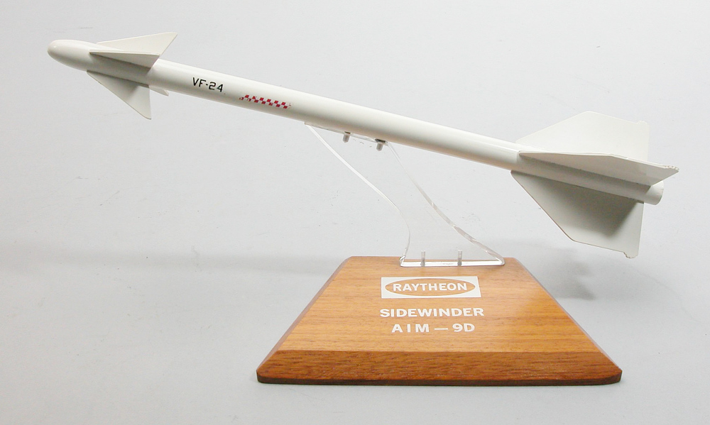 Model, Missile, Sidewinder AIM-9D,Model, Missile, Sidewinder AIM-9D