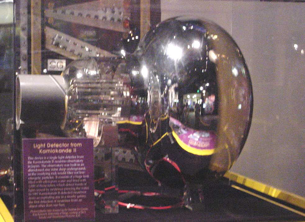 Detector, Neutrino, Photomultiplier