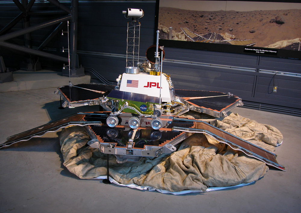 Engineering Model, Lander, Mars, Pathfinder