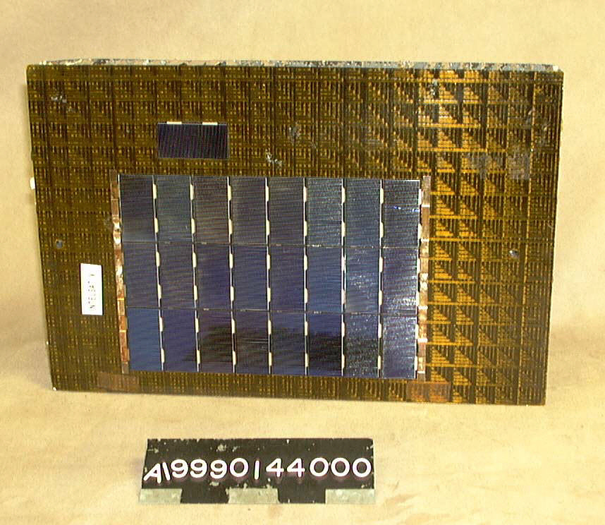 Solar Cell Test Panel, Intelsat V,Solar Cell Test Panel, Intelsat V